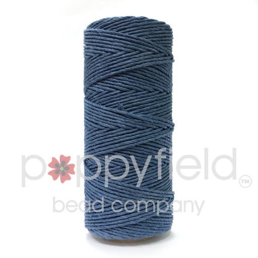 Hemp Cord, 20lb, Dusty Blue, 205 ft