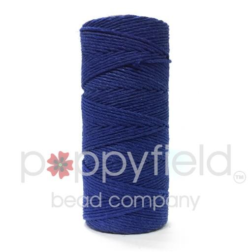 Hemp Cord, 20lb, Royal Blue, 205 ft