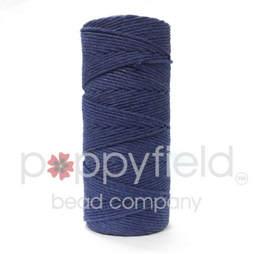 Hemp Cord, 20lb, Blue, 205 ft