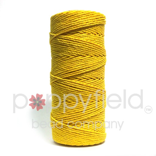 Hemp Cord, 20lb, Yellow, 205 ft
