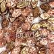 Czech Leaves, 12x7 mm, Apollo Gold, 25 pcs