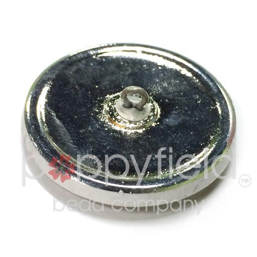 Czech Czech Button, 27 mm, Sapphire Wheel