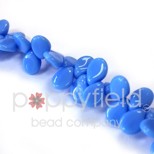 Czech Pips, Opaque Blue, 60 pcs