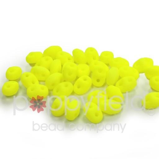 Czech MINI-DUO, Alabaster Yellow Neon, 12g