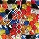 Czech Preciosa Bicone Strand, 4 mm, Fair Outline Mix, 31 pcs