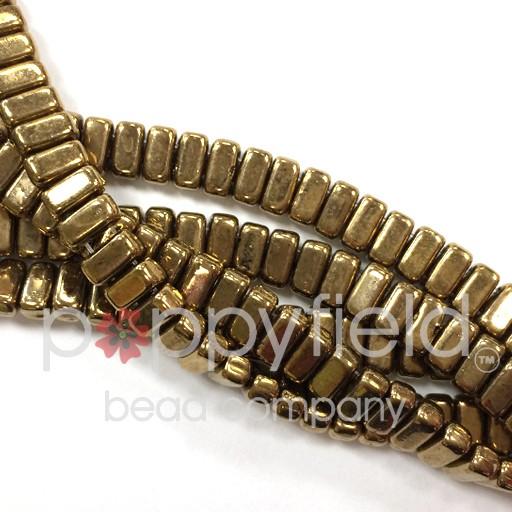 Czech Bricks, Bronze, 50 pcs