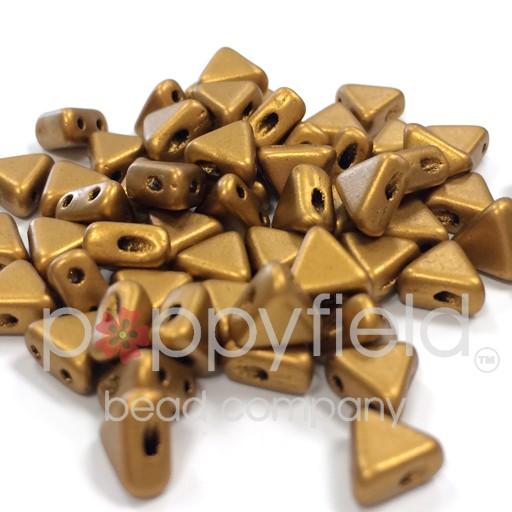 Czech Kheops Par Puca, Bronze Gold Matte, 10g