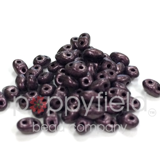 Czech MINI-DUO, Metallic Suede Pink, 12g