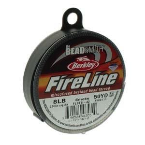 8lb Smoke Grey Fireline