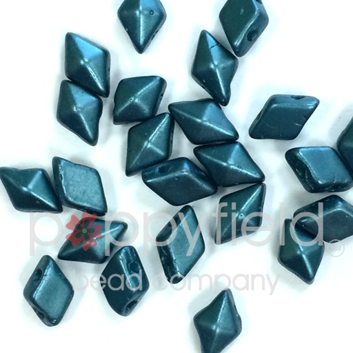 Czech DiamonDuo, Pastel Blue Zircon, 10g