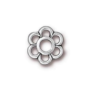 6 Petal Link, Silver
