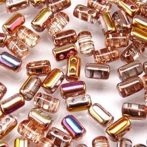 Czech Rulla Beads, Crystal Sliperit, 25g