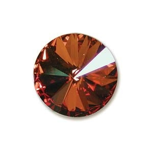 Austrian Swarovski Rivoli, 14 mm, Crystal Chili Pepper