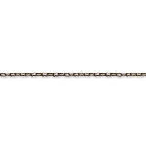 Helby Brass Fine Ornate Chain, Sold in 3 Inch Lengths