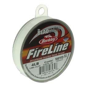 Fireline Crystal 4lb, 50 yards