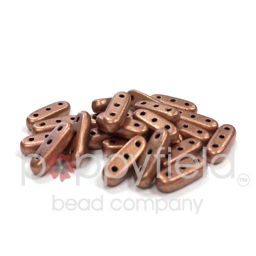 Czech CzechMate Beam, 3/10 mm, Matte Metallic Copper, 10g