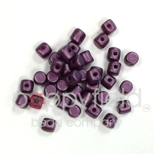 Czech Minos, 2.5 x 3mm, Pastel Bordeaux, 10g