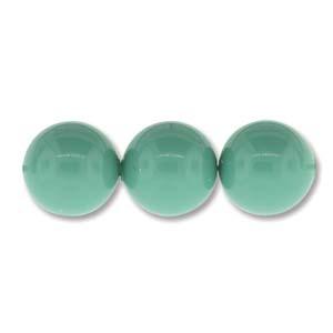 Austrian Swarovski Crystal Pearl, 6 mm, Jade, 10 pcs