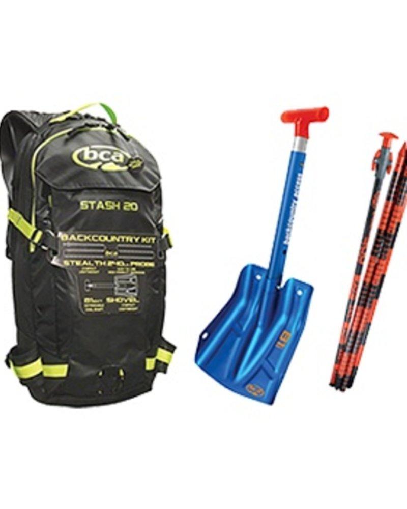 BCA BCA Stash 20 Kit (Pack, Shovel, Probe)