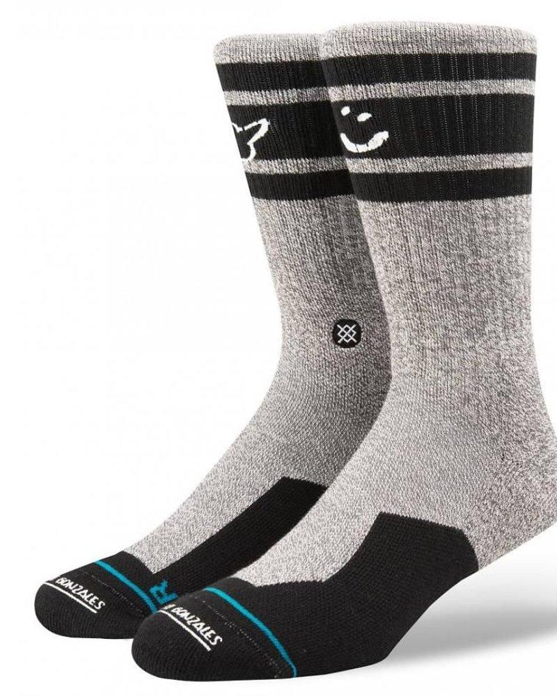 INSTANCE Instance Mark Gonzales Smiley Socks