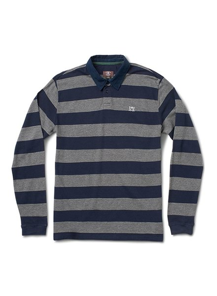 FOURSTAR Fourstar Pirate Stripe L/S Polo