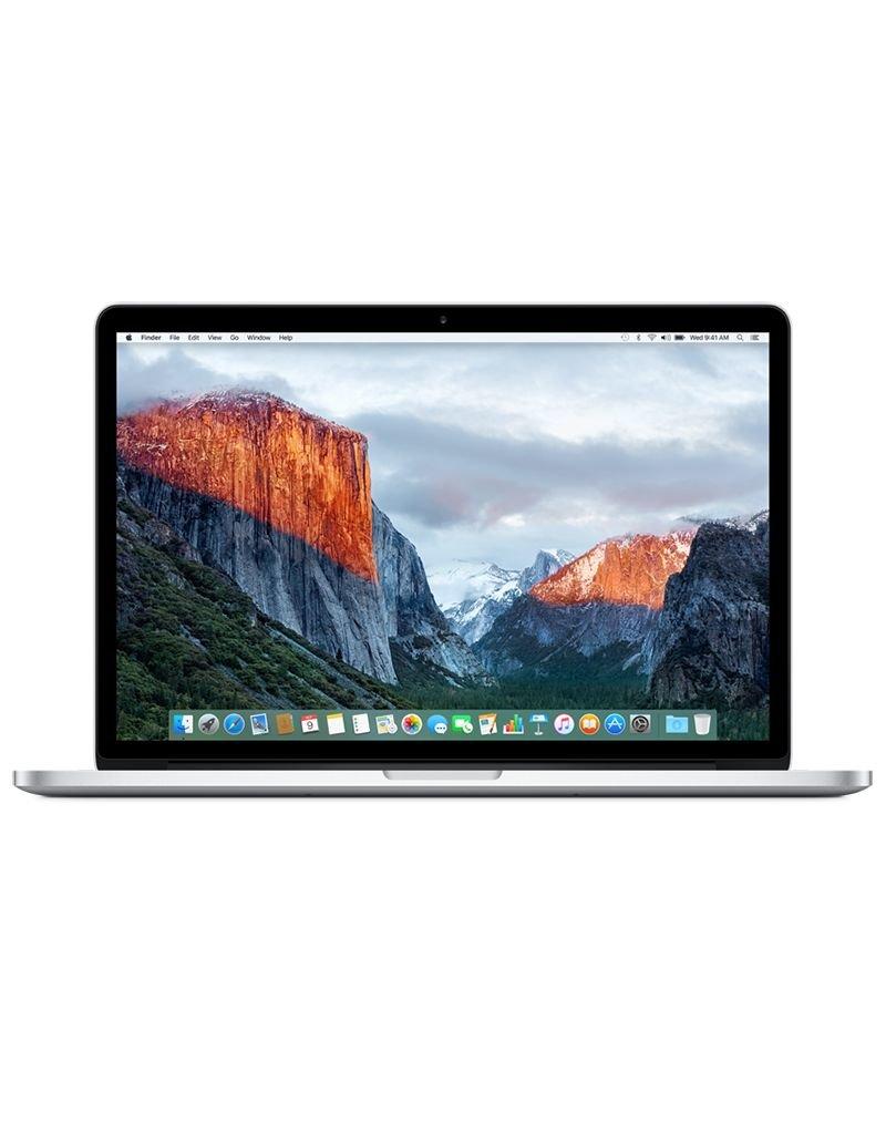Apple 15-inch MacBook Pro - Silver 2.2GHz Quad-Core i7 / 16GB Ram / 256GB Storage / Intel Iris Pro
