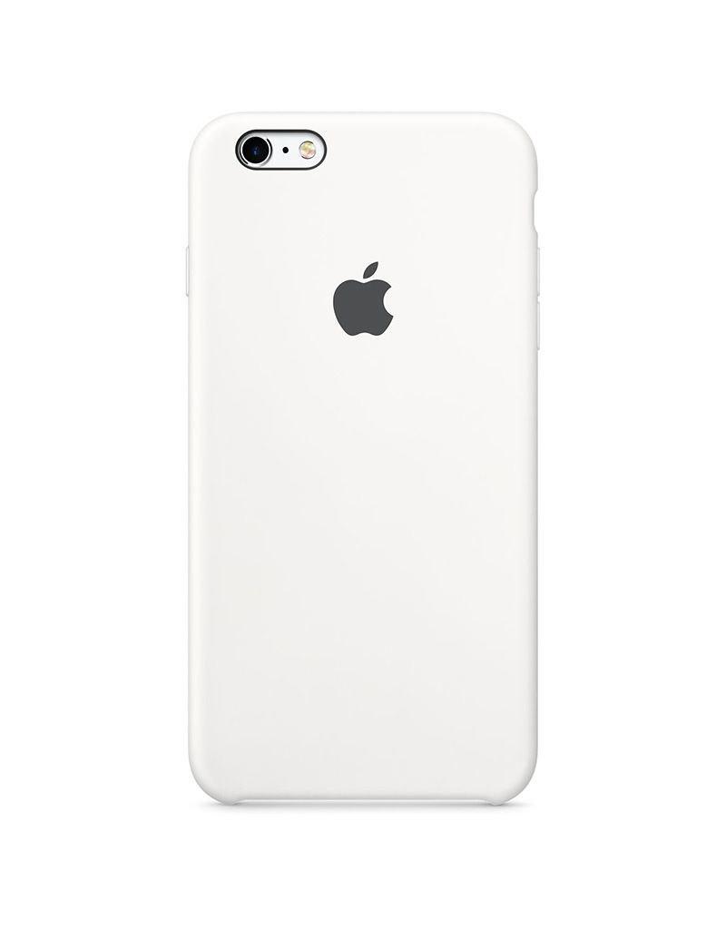 Apple Apple iPhone 6/6s Plus Silicone Case - White