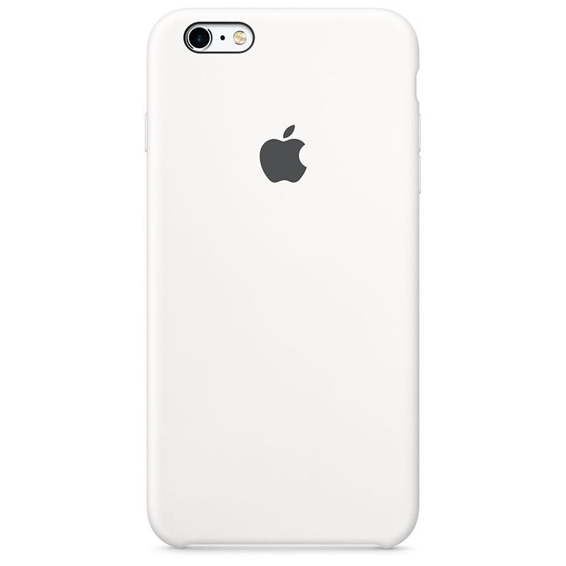 Apple Apple iPhone 6/6s Plus Silicone Case - White