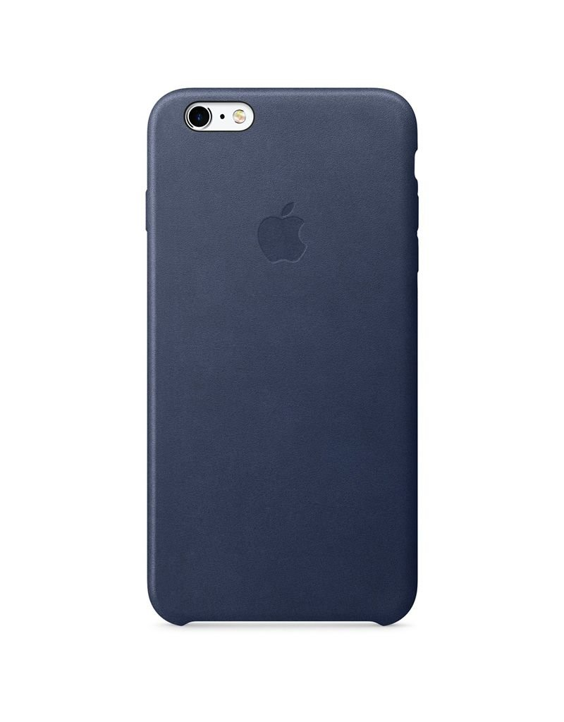 Apple Apple iPhone 6/6s Plus Leather Case - Midnight Blue