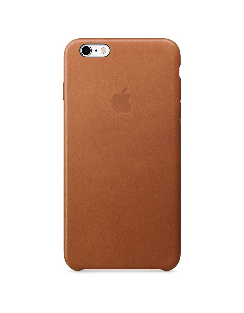 Apple Apple iPhone 6/6s Plus Leather Case - Saddle Brown