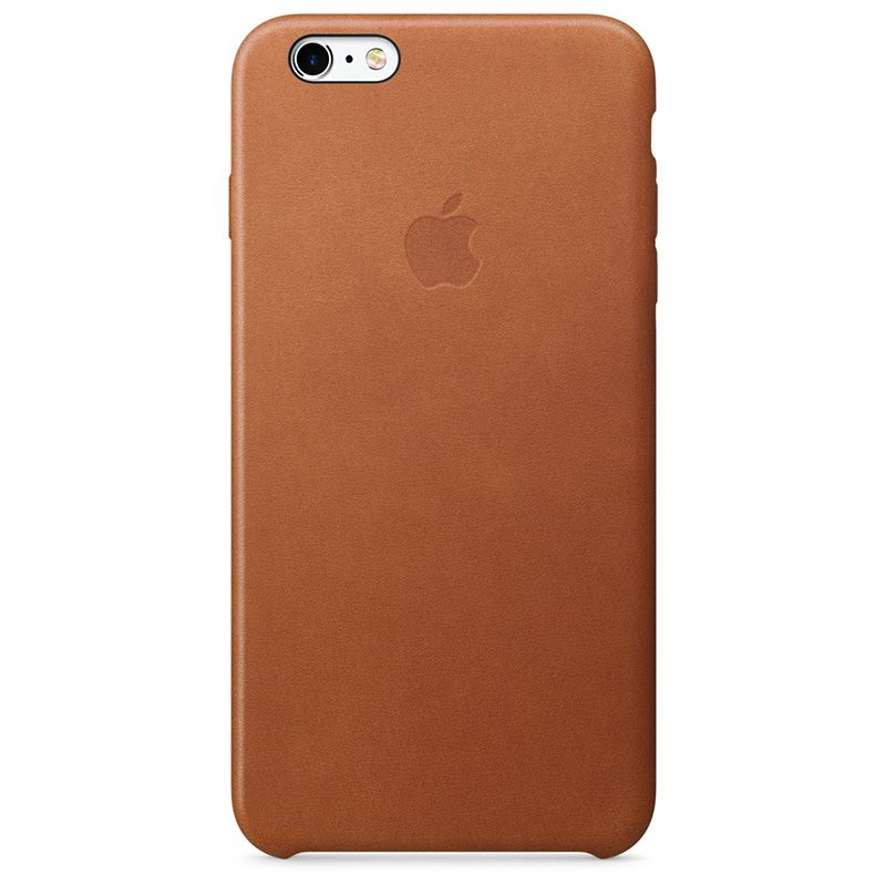 Apple Apple iPhone 6/6s Plus Leather Case - Saddle Brown