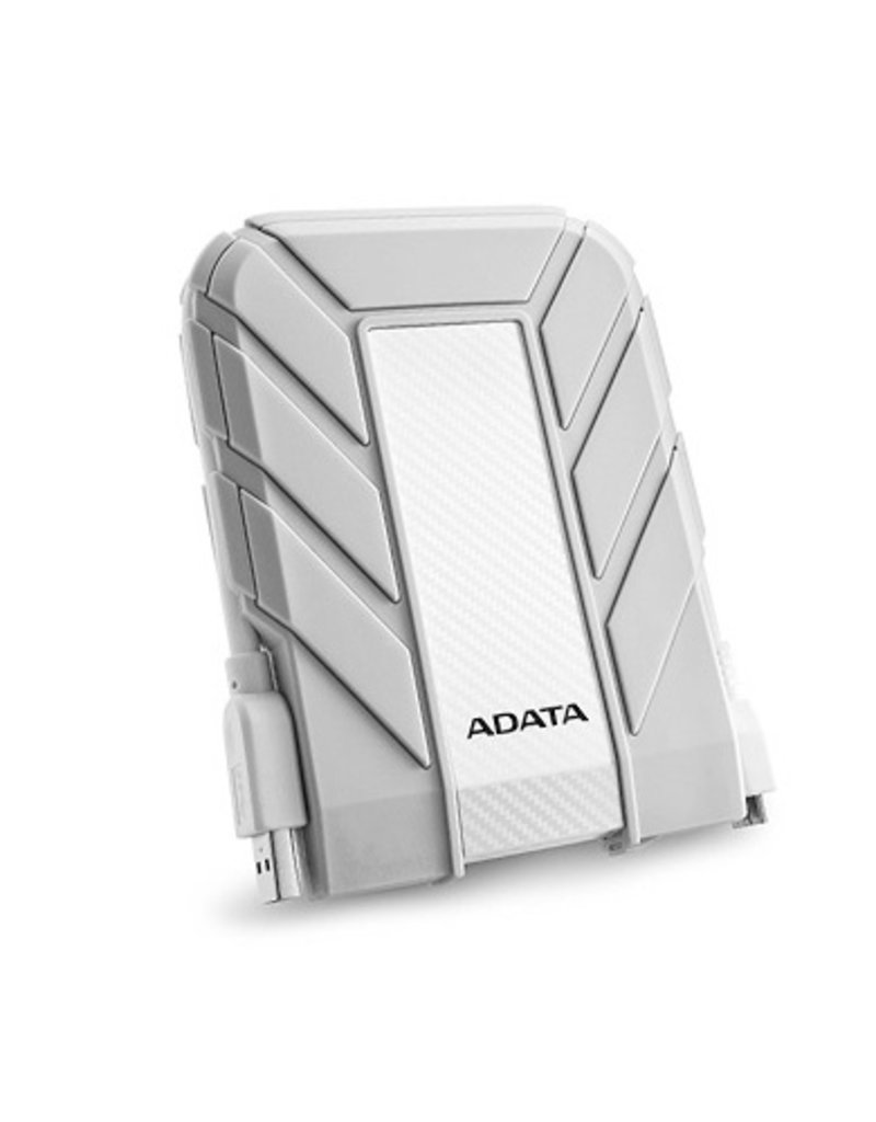 ADATA 1TB 2.5'' Military-grade Water Proof/Shockproof Ext HD710A White For Mac