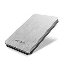 "Astone Astone ISO Gear 2.5"" Value External Enclosure - black/white USB 3.0/2.0"
