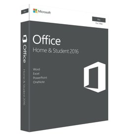 Microsoft Microsoft Office for Mac Home & Student 2016 - 1 Mac