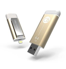 Adam Elements Adam Elements iKlips Lightning Flash Drive 64GB - Gold