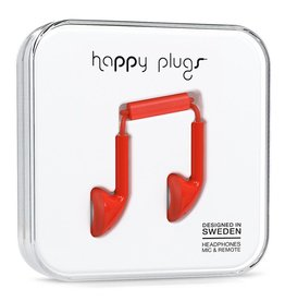 Happy Plugs Happy Plugs Earbud Red