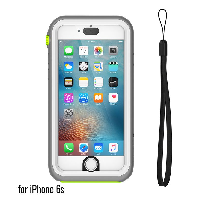 Catalyst Catalyst Waterproof case for iPhone 6/6s White Mist (White/Grey)