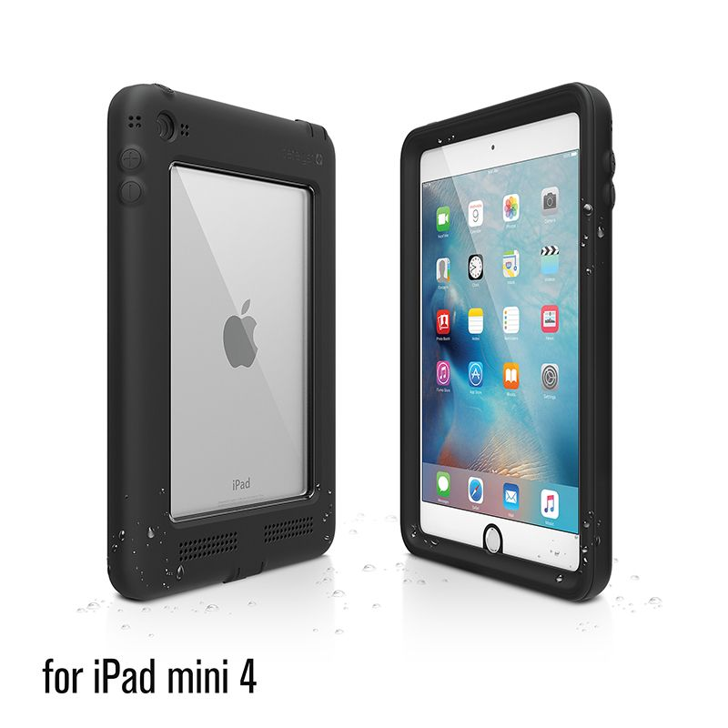 Catalyst Catalyst Waterproof case for iPad mini 4 Stealth Black (Black/Space Grey)