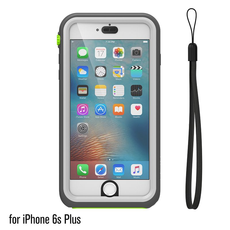 Catalyst Catalyst Waterproof case for iPhone 6 Plus/6s Plus Green Pop (Green/White)