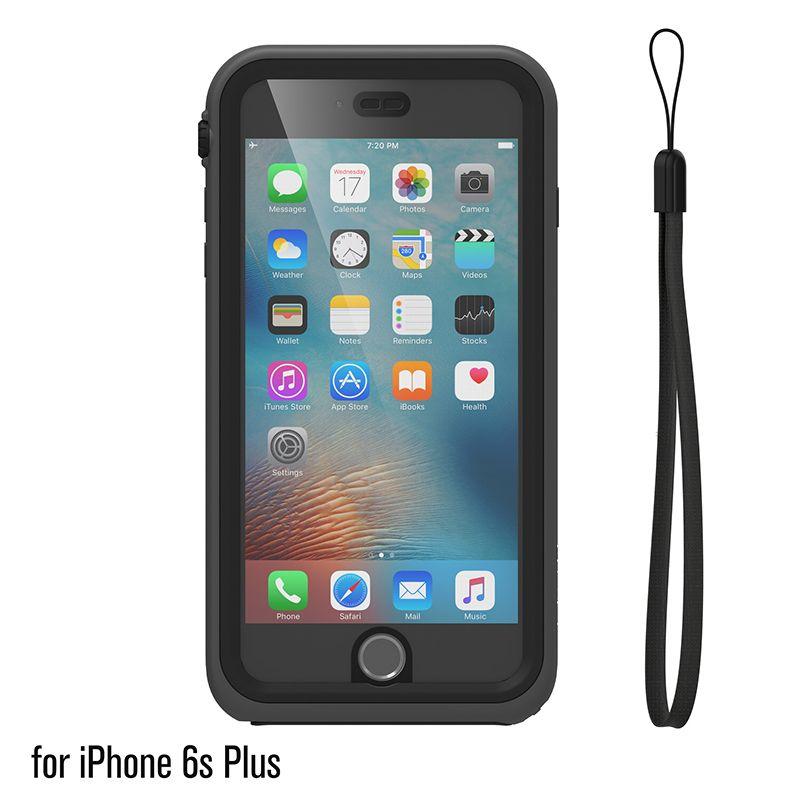 Catalyst Catalyst Waterproof case for iPhone 6 Plus/6s Plus Stealth Black (Black/Space Grey)