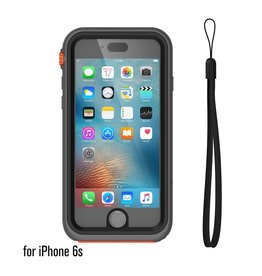 Catalyst Catalyst Waterproof case for iPhone 6/6s Rescue Ranger (Grey/Orange)