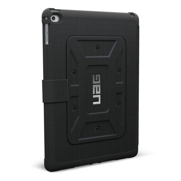 UAG UAG Military Standard Folio Case for iPad Air 2 Black/Black (Scout)