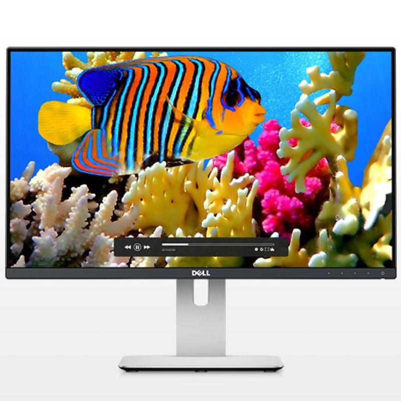 """Dell DELL UltraSharp 23.8"""" LED HDMI/DisplayPort/mini-DisplayPort (16:9) 1920x1080 Height Adjust Stand VESA"""