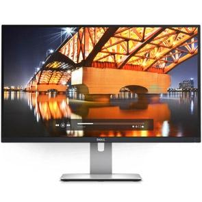 """Dell DELL UltraSharp 27"""" 2K LED HDMI/DisplayPort/mini-DisplayPort (16:9) 2560 x 1440 Height Adjust Stand VESA"""