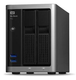 Western Digital My Book Pro 8TB Desktop RAID External Hard Drive - Dual Drive, USB3.0, Thunderbolt2, Mac Formatted - Black