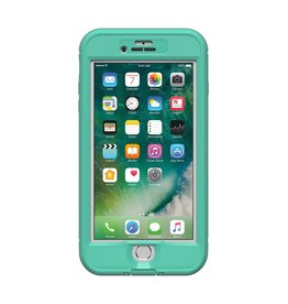 Lifeproof LifeProof Nuud Case suits iPhone 7 Plus - Mermaid Soft Mint/Taliside Teal/Clear