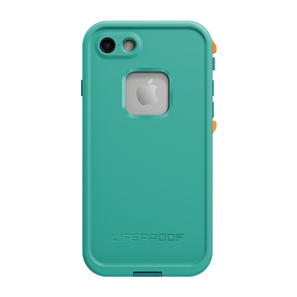 Lifeproof LifeProof Fre Case suits iPhone 7 - Light Teal/Maui Blue/Mango Tango