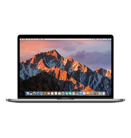 Apple 15-inch MacBook Pro with Touch Bar and Touch ID - Space Grey 2.8GHz Quad-Core i7 / 16GB Ram / 256GB Storage / Radeon Pro 555 2GB