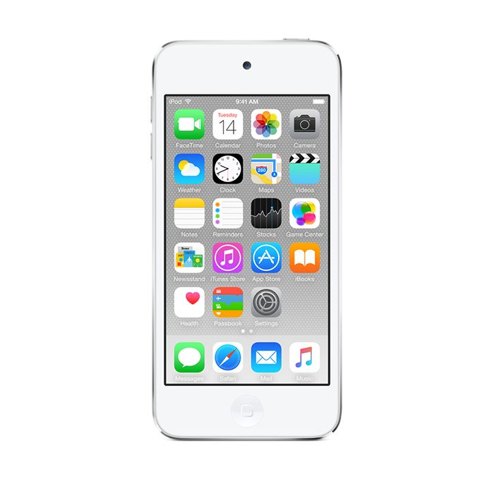 Apple iPod touch 16GB - White & Silver (6th gen)