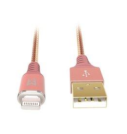 EFM EFM MFI Approved Lightning Cable 1.2m - Rose Gold
